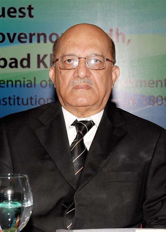 Mr. Justice Nasir Aslam Zahid, former Chief Justice, Sindh High Court, Keynote - 20